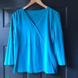 J. Jill Tops - J. Jill medium 3/4 sleeve shirt